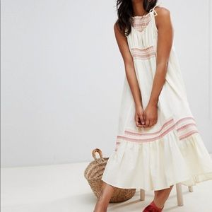 Another Love Smocked Free People Maxi Dress